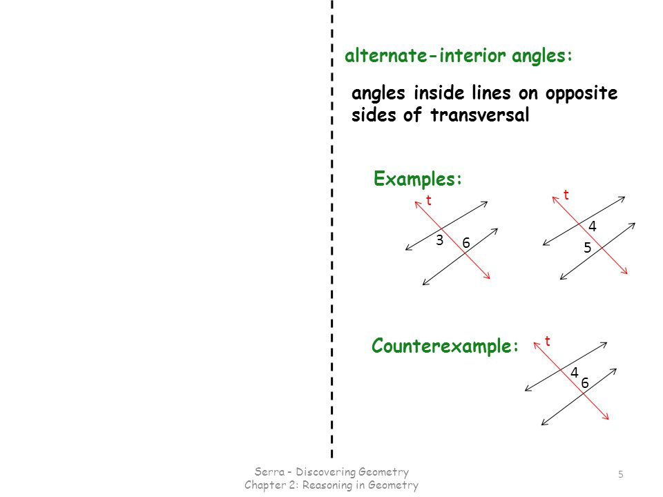 Alternate Interior Angles : Special angles on parallel lines ppt video online