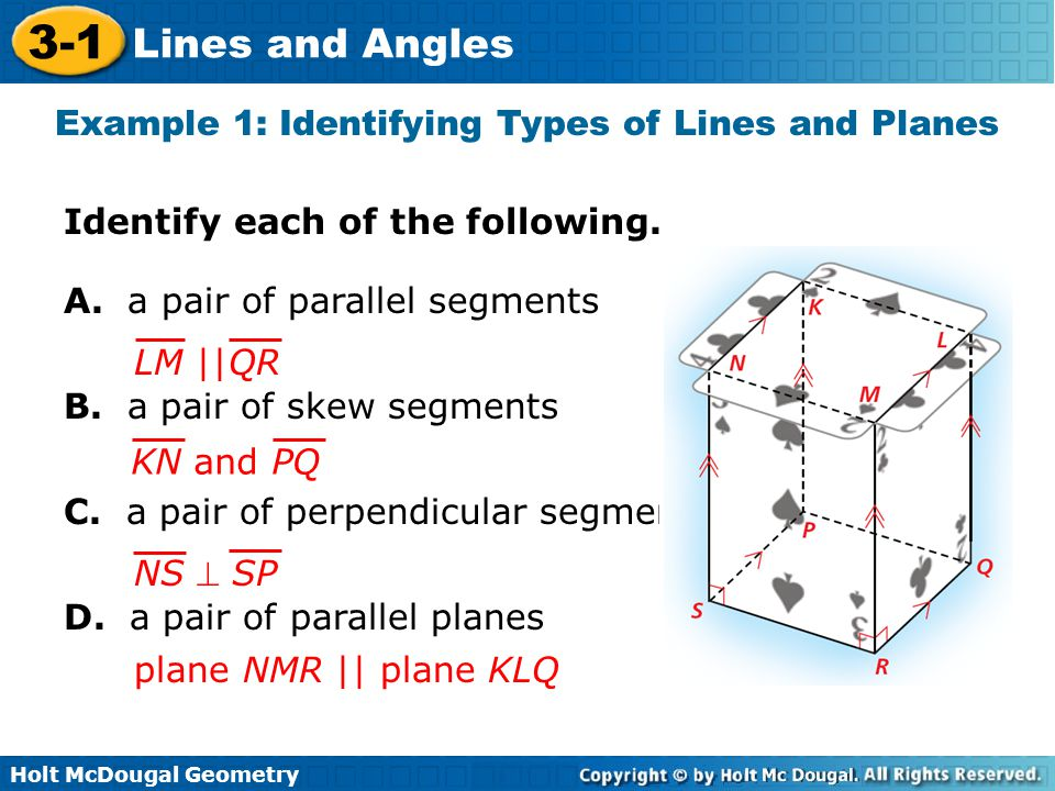 3 1 Lines And Angles Warm Up Lesson Presentation Lesson Quiz Ppt Video Online Download