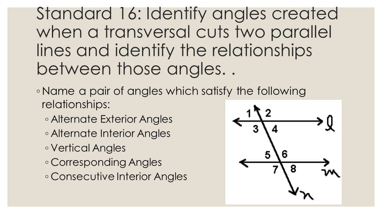 Parallel and perpendicular lines ppt video online download for Consecutive exterior angles theorem