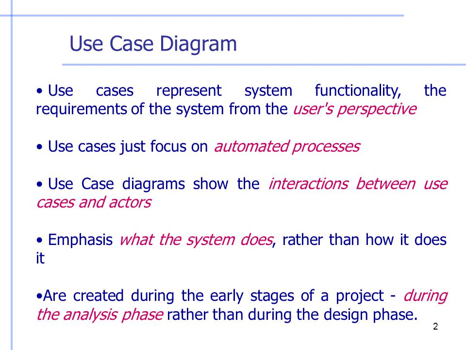 information system engineering ppt use case diagram use cases represent system functionality the requirements of the system from the