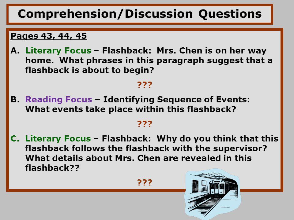 Before During and After Reading Skills ppt download – Flashback Worksheet