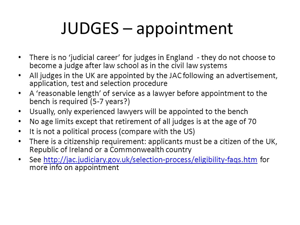 judge uk how to become