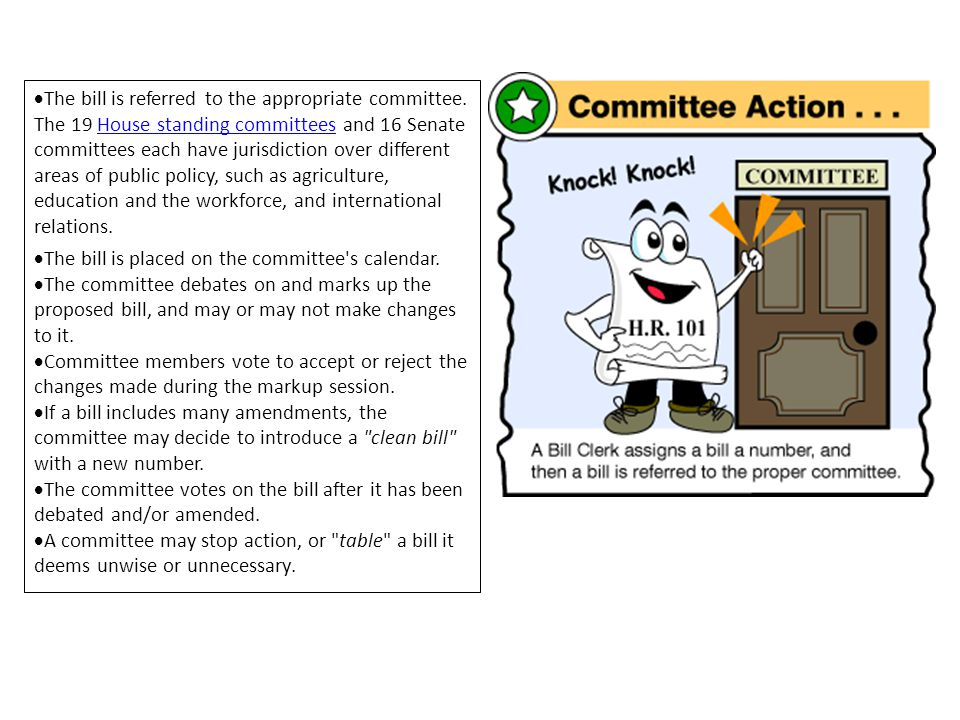 The bill is referred to the appropriate committee