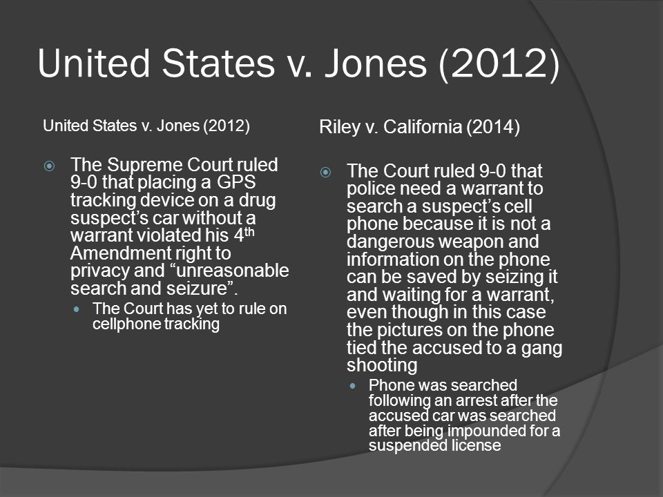 an analysis of the united states v jones supreme court case Facts and case summary - elonis v us  heard at the supreme court of the united states on monday, december 1, 2014  analysis & reports.