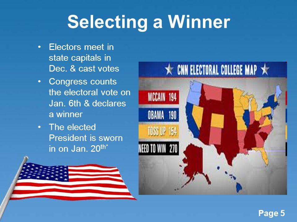 electoral college usa