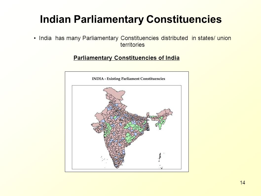 Indian Parliamentary Constituencies