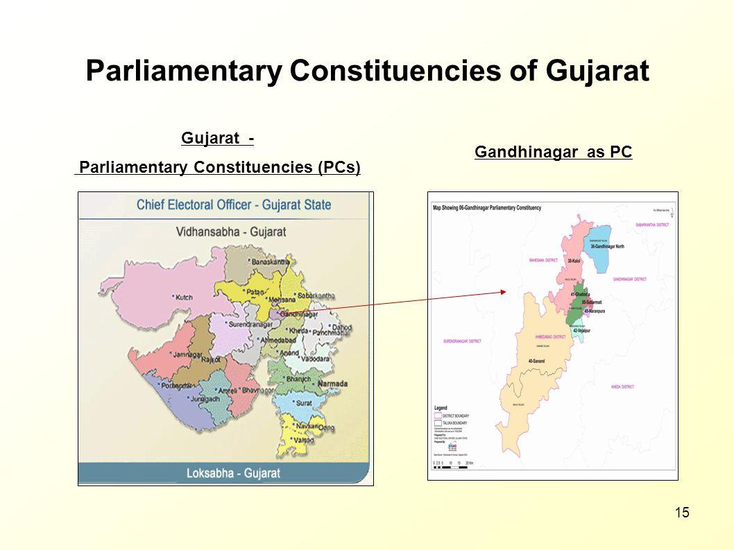 Parliamentary Constituencies of Gujarat