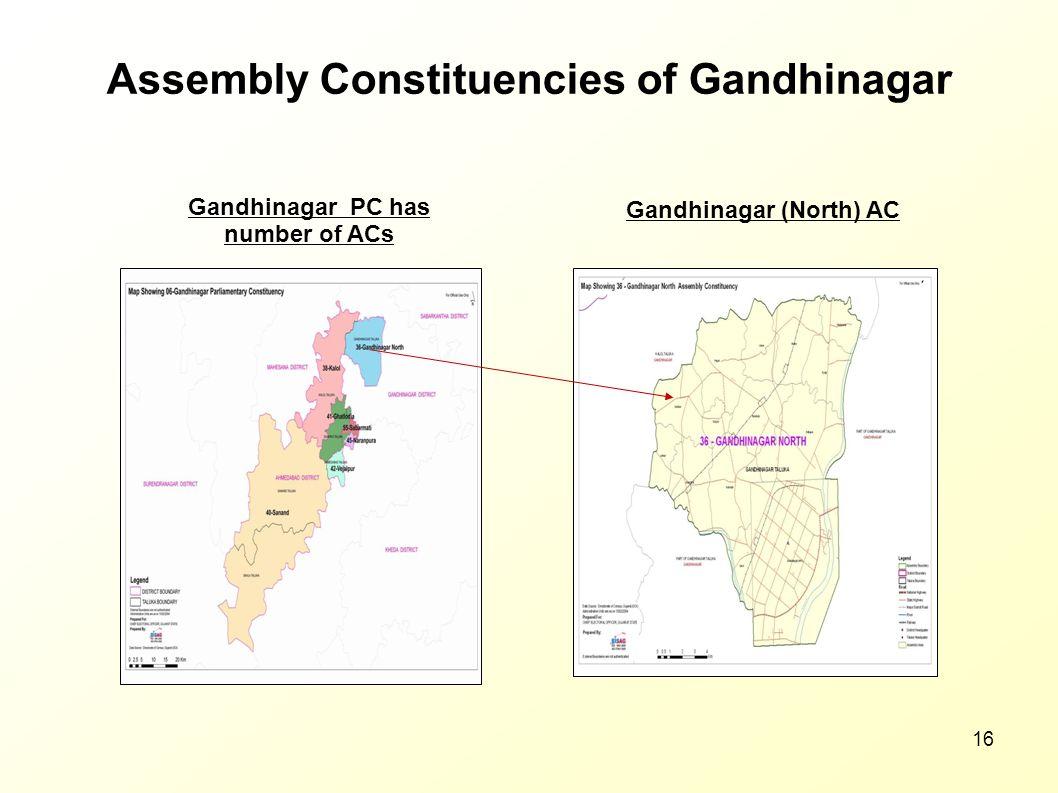 Assembly Constituencies of Gandhinagar