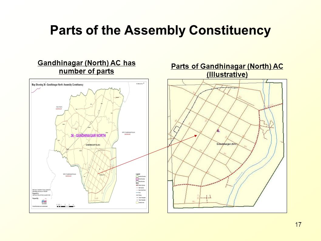 Parts of the Assembly Constituency
