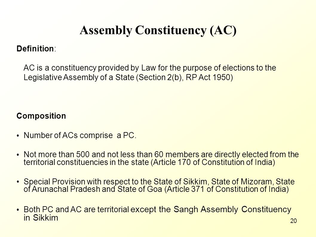 Assembly Constituency (AC)