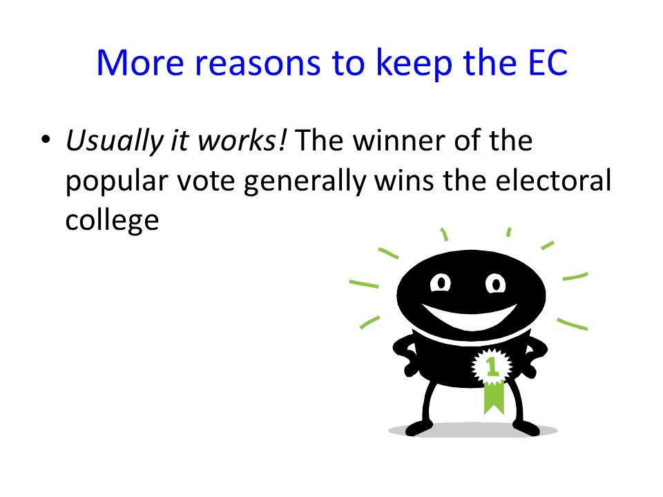 keep or get rid of the electoral college Americans are so sick of politics right now that merely mentioning a phrase like let's get rid of the electoral college might compel some to stick pins in their eyes.