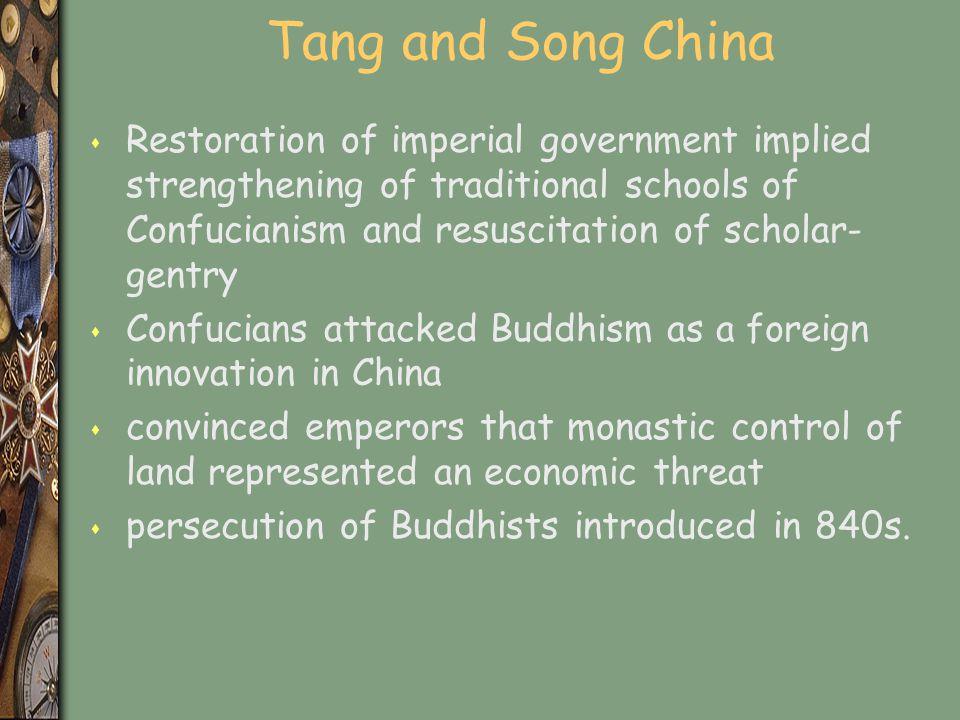 Tang and Song China