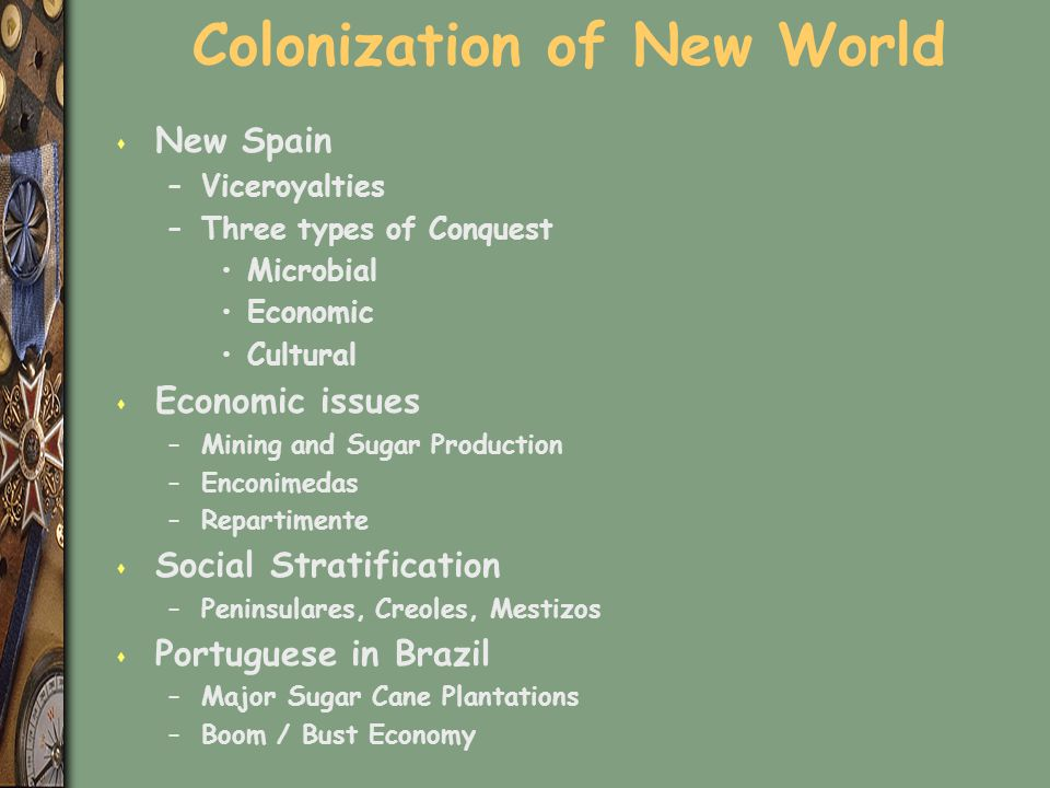 Colonization of New World