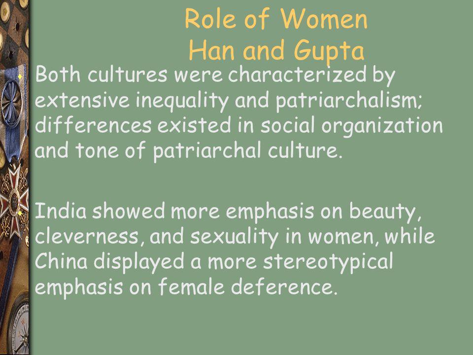 Role of Women Han and Gupta