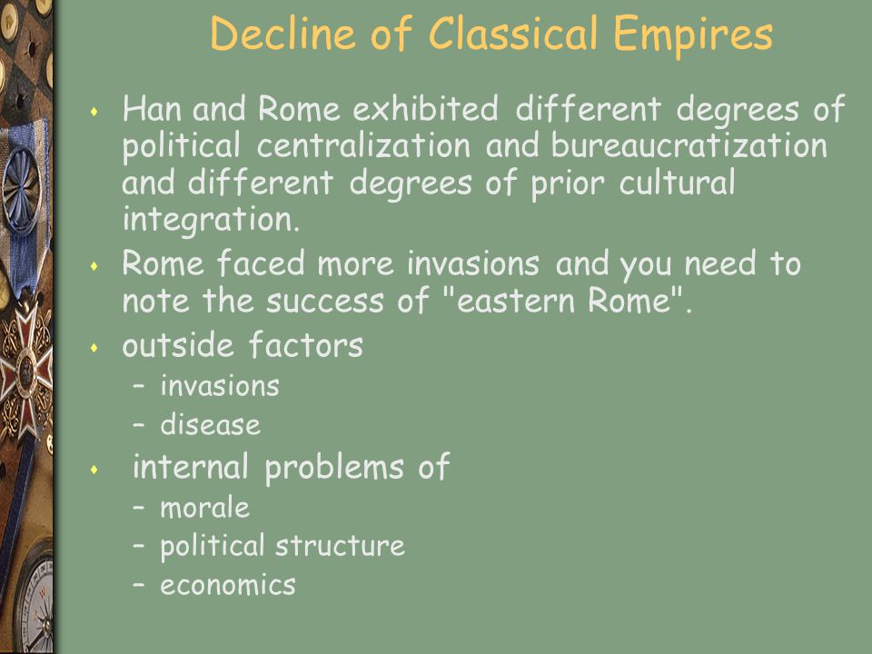 Decline of Classical Empires