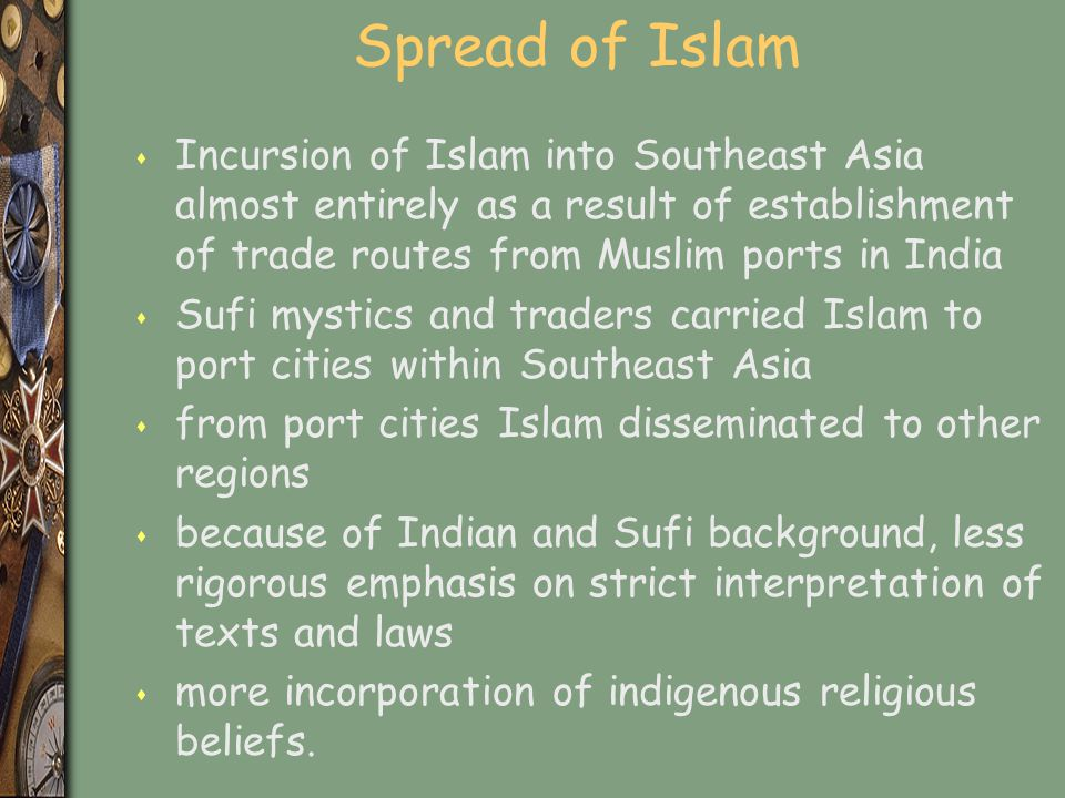 islam in southeast asia 12 modernization and the process of globalization: the muslim experience and responses.