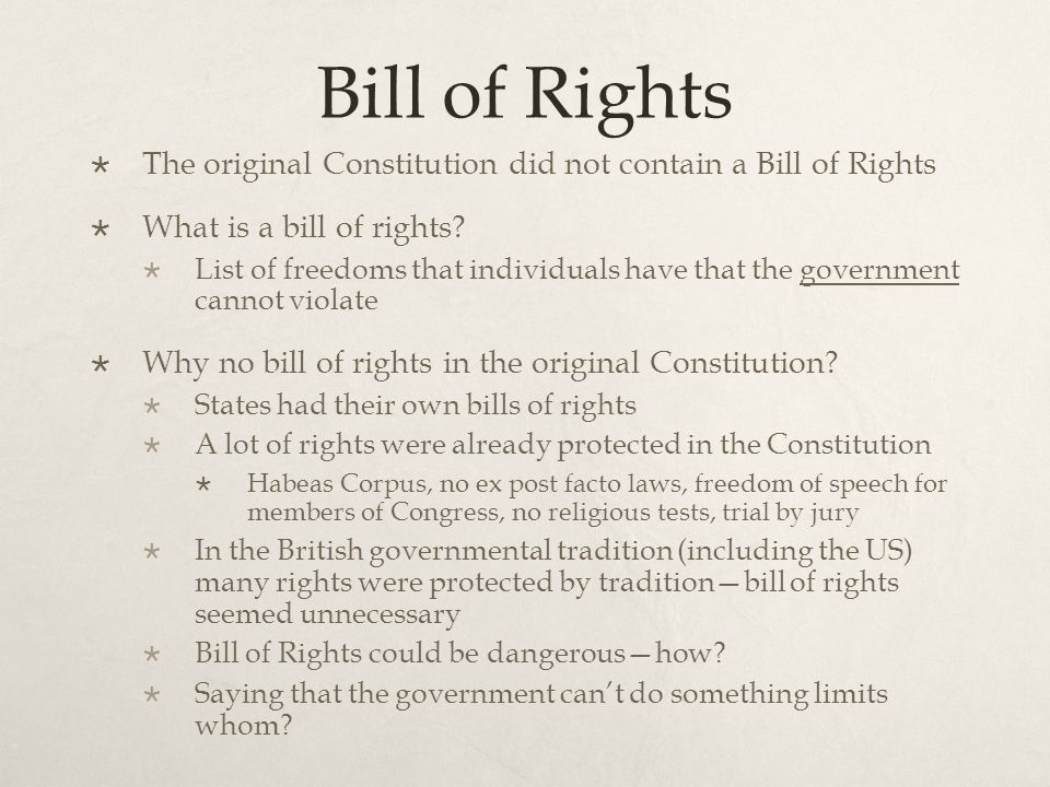 bill rights four freedoms The first amendment of the bill of rights to the constitution guarantees four  freedoms: freedom of religion, speech, press and assembly the bill.