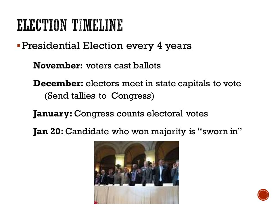 when do the state electors meet in 2012