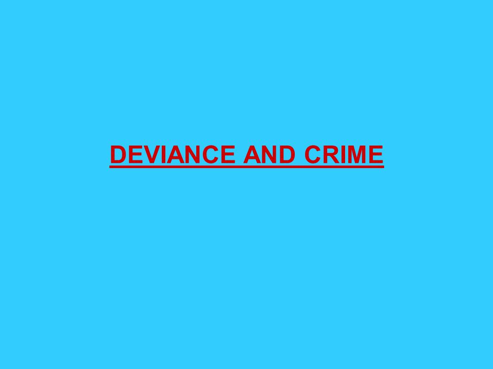 durkheim deviance Deviance is an objective phenomenon - an act either is or is not deviant labeling theory is primarily concerned with the social processes by which individuals are labeled as deviant, and with the effects of these labels on the deviant and non-deviant alike.