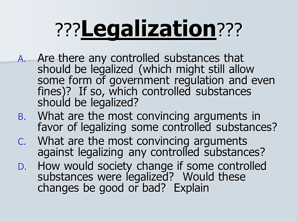 Drug Legalization in Latin America: Could it be the Answer?