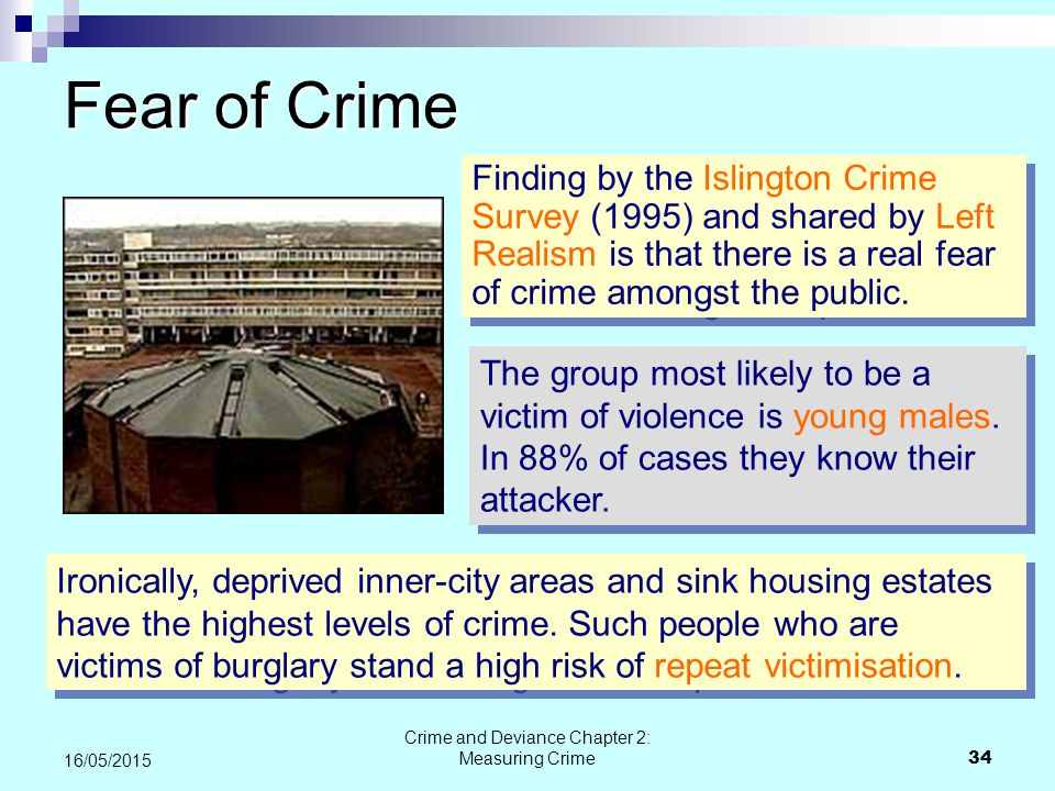 fear of crime survey results Crime is falling now let's reduce fear of crime  were based on extensive crime survey research and  that the fear of crime has in itself helped to.