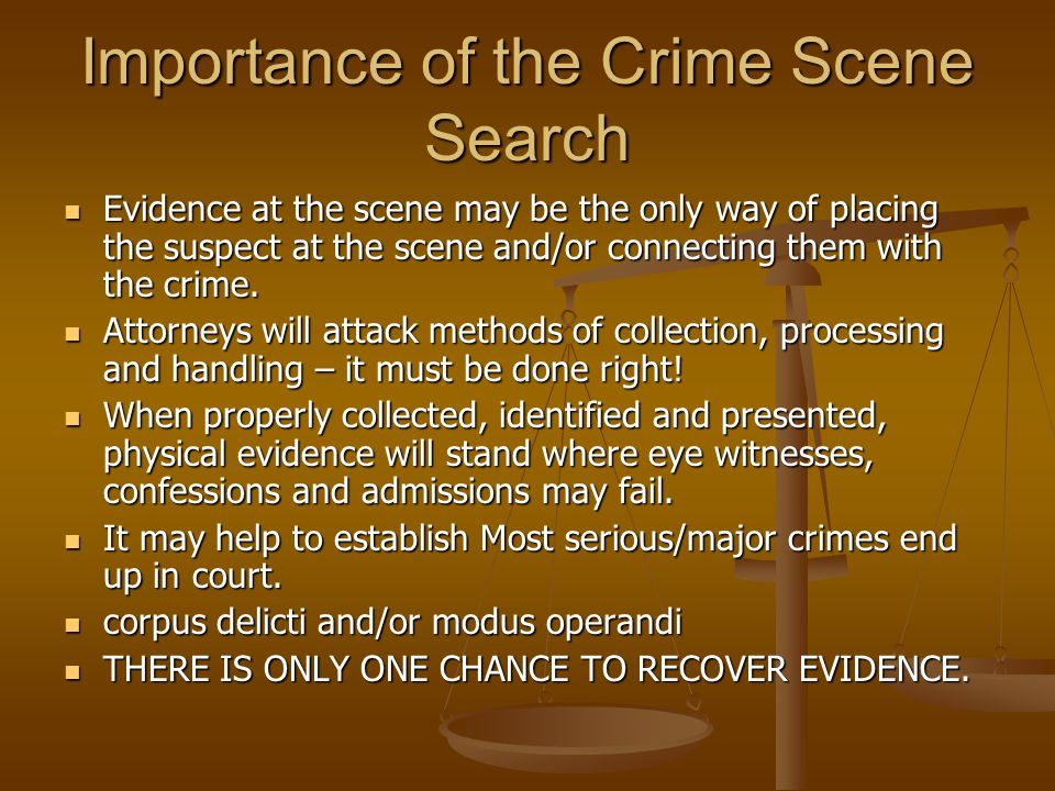 the importance of physical evidence in court proceedings Community leaders is an important tool in prevention juvenile proceedings the juvenile court has jurisdiction over delinquency matters documentation, and physical evidence the juvenile does not have to present any evidence.