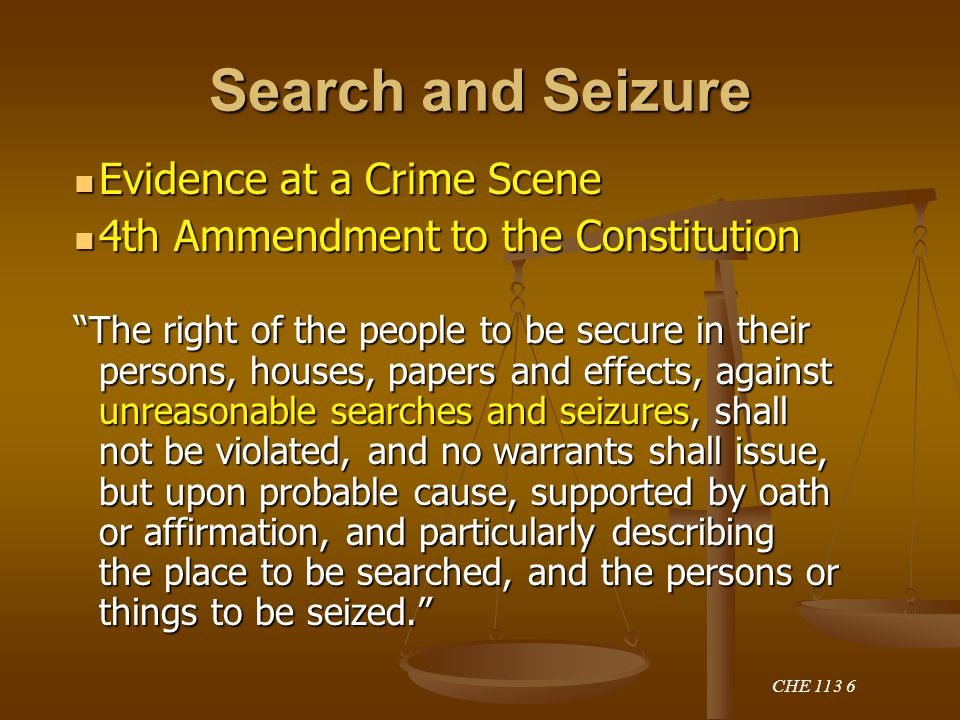 searches and seizures essay Private searches10 5 use of specialized technology to obtain information14 c exceptions to the warrant requirement in cases.