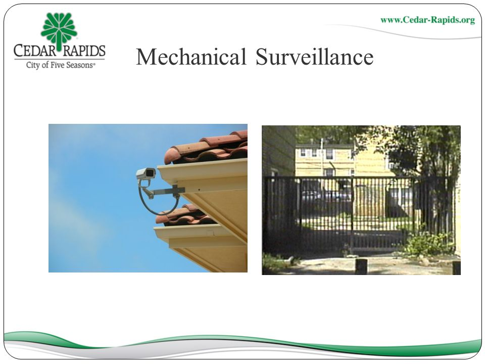 Mechanical Surveillance