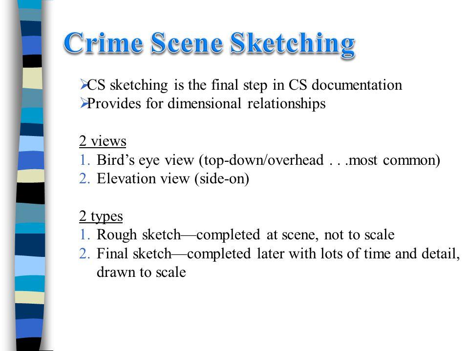 chapter 10  crime scene investigation