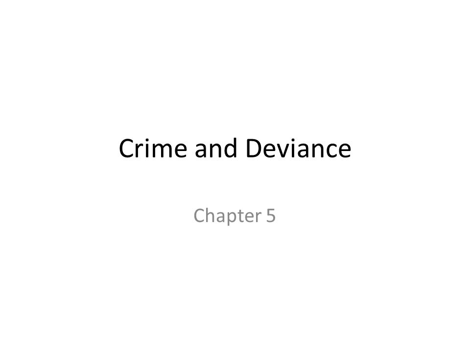 crime and deviance 1 Deviance is any behavior that violates cultural norms norms are social expectations that guide human behavior deviance is often divided into two types of deviant activities the first, crime is the violation of formally enacted laws and is referred to as formal deviance examples of formal.