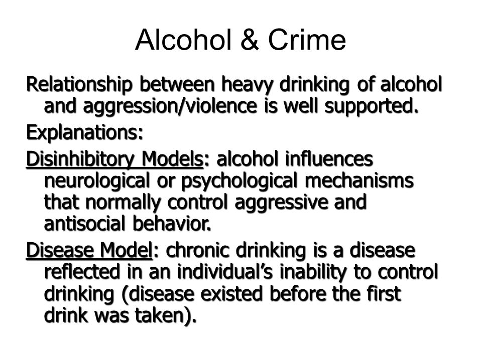 relationship between alcohol and violence Alcohol-related violence impacts on physical, mental and sexual health  relationships between alcohol and violence the association between alcohol and violence is well documented4,5 alcohol consumption and, in particular, binge-drinking increases the risk of being.