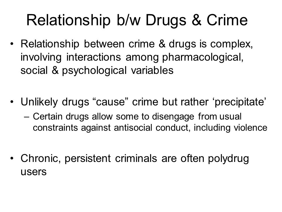 relationship between substance abuse and violence