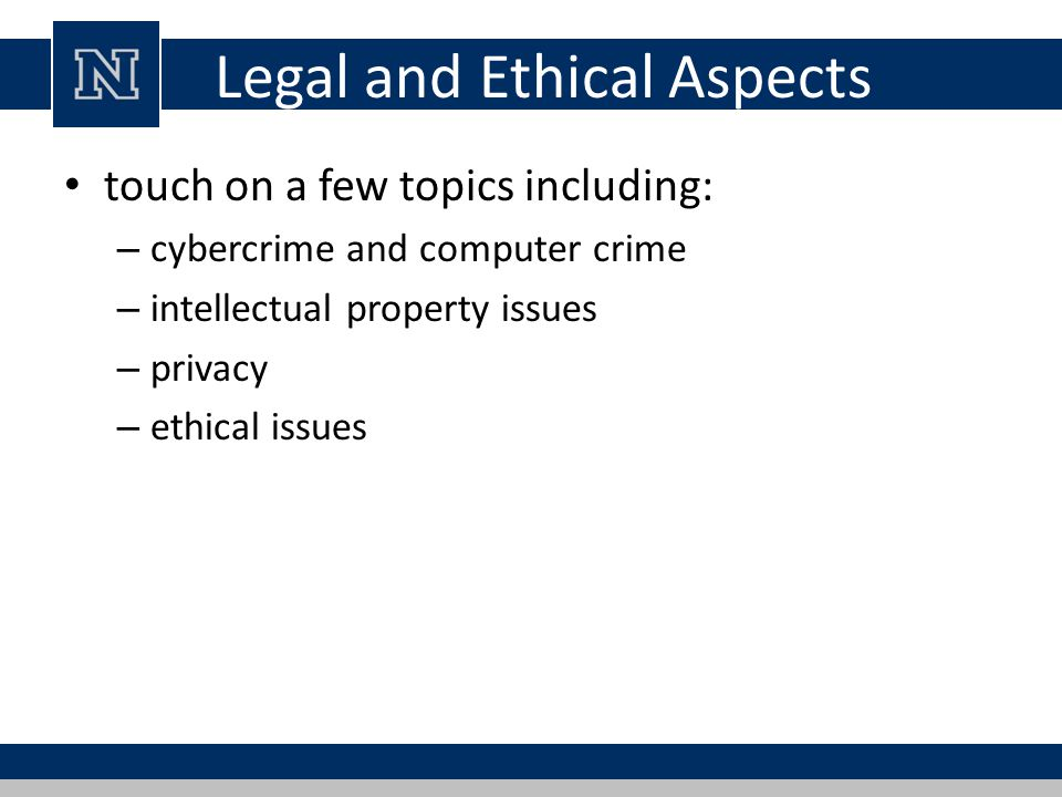 main issues in computer crimes Issues 3 necessary future solutions as a prerequisite for finding future strategies to fight computer crime, the report analyses the basic changes of the international risk and information society as the driving forces behind computer crime based on this analysis, the study stresses three main requirements for future.