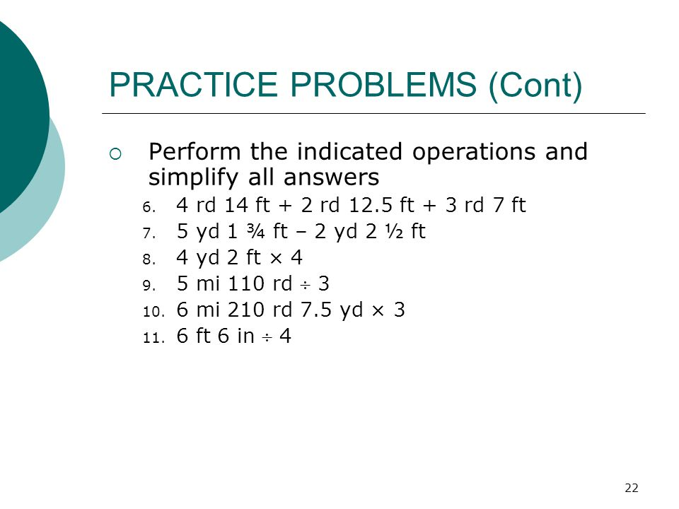 CUSTOMARY MEASUREMENT UNITS - ppt video online download