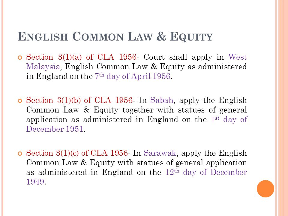 development of common law equity in malaysia 5 differences between common law and civil law system (detailed with reference) 5 differences between common law and gave rise to the development of equity.
