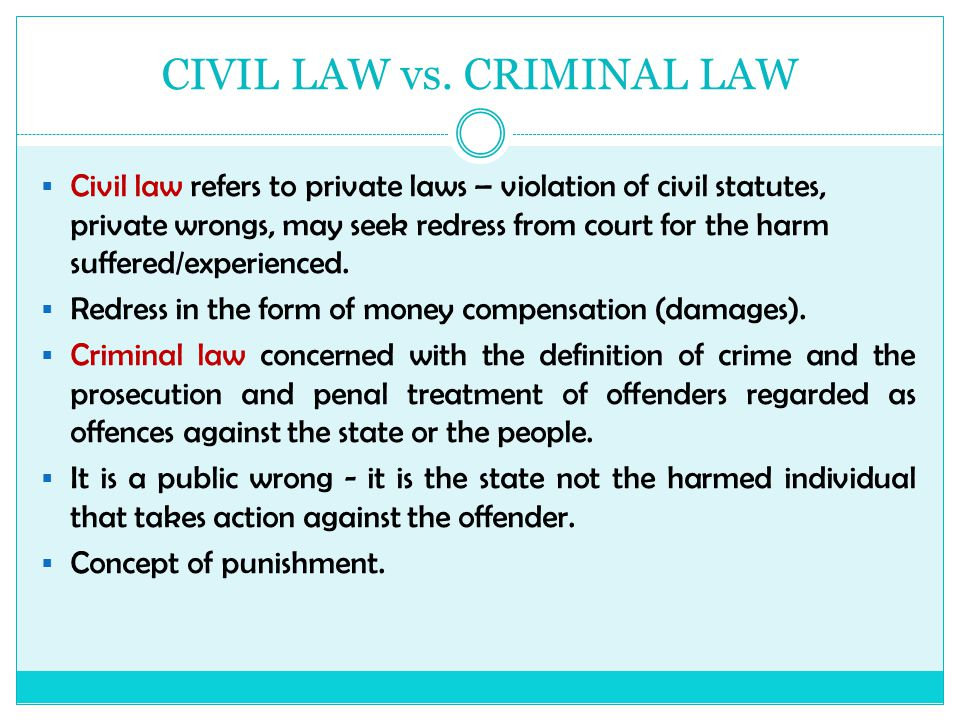 differences between substantive law procedural law criminal law civil law common law and statutory l Criminal or civil prosecution, procedural law establishes  roots of these differences the common law and civil law traditions above: woodcut of a court scene from   a comprehensive legal code providing substantive and procedural law for all situations as civil law came into practice throughout.