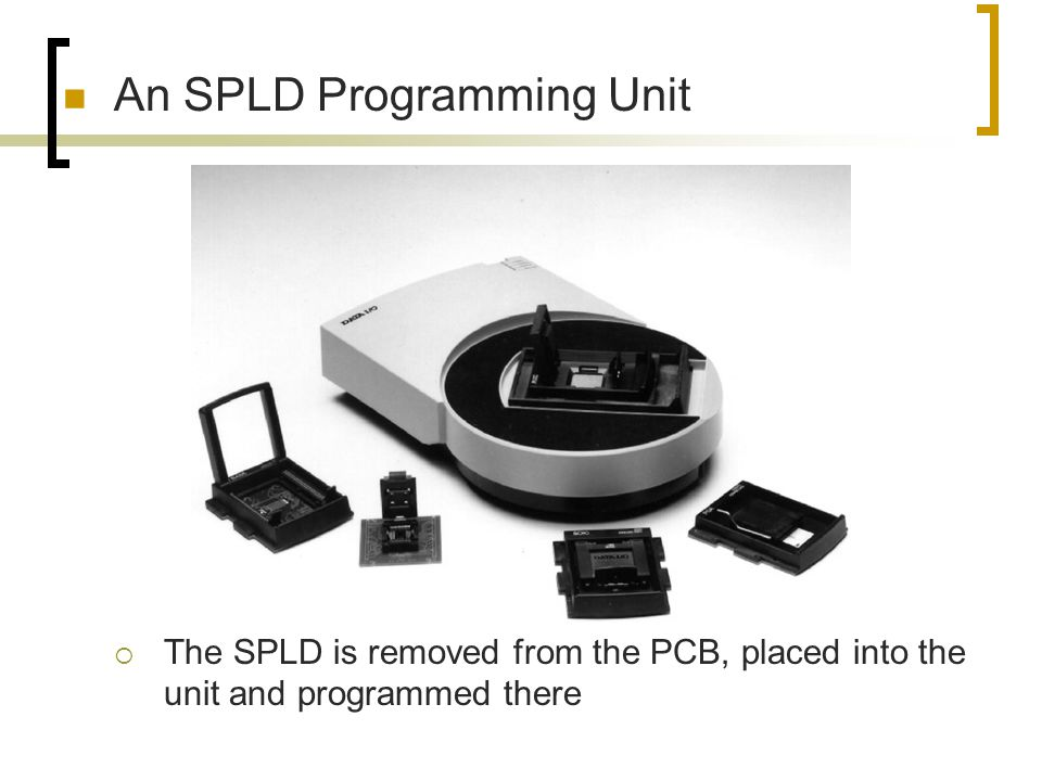 An SPLD Programming Unit