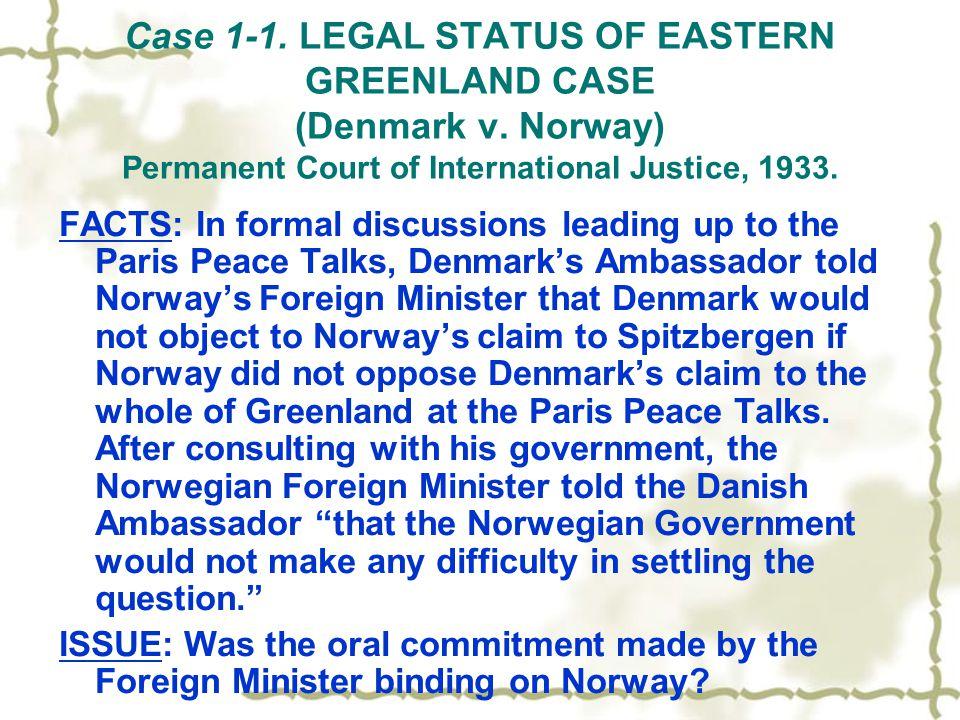 case 1 legal