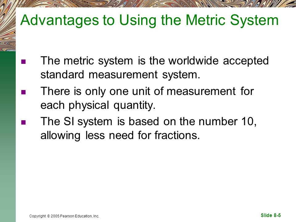 advantages united states changing metric system si units The united states legalized the metric system in 1866 here is the canadian view  there are no advantages in the engineering world except for.