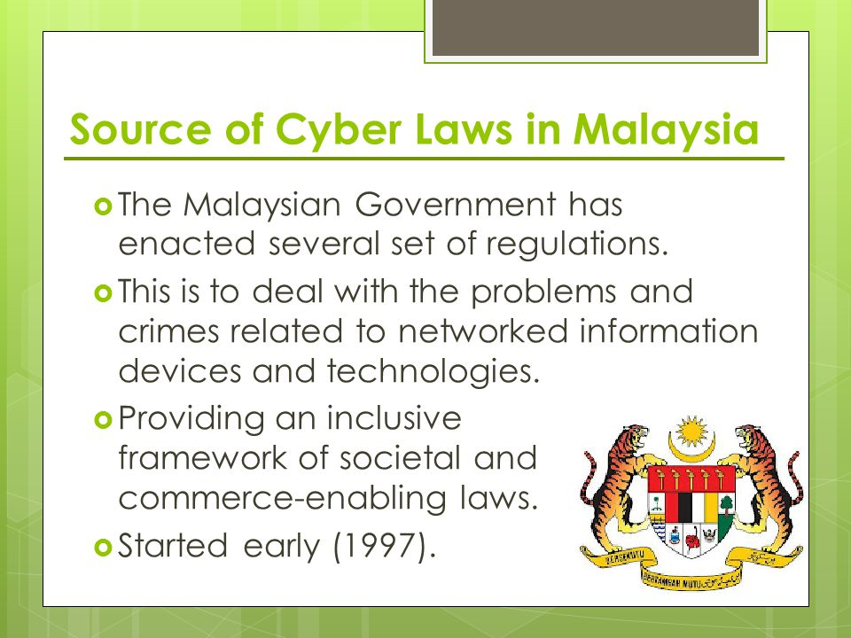 ethics of cyber law 1 cyber law refers to all the legal and regulatory aspects of internet and world wide web it is important because for the following reasons: i.