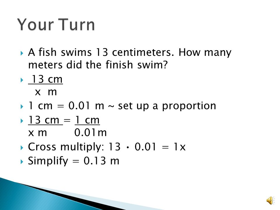 Lesson Eq How Do You Use Proportions To Convert Measurements Find The Unknown Side Length Of