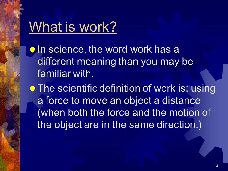 Definitions energy work force ability to do work force for Work floor meaning