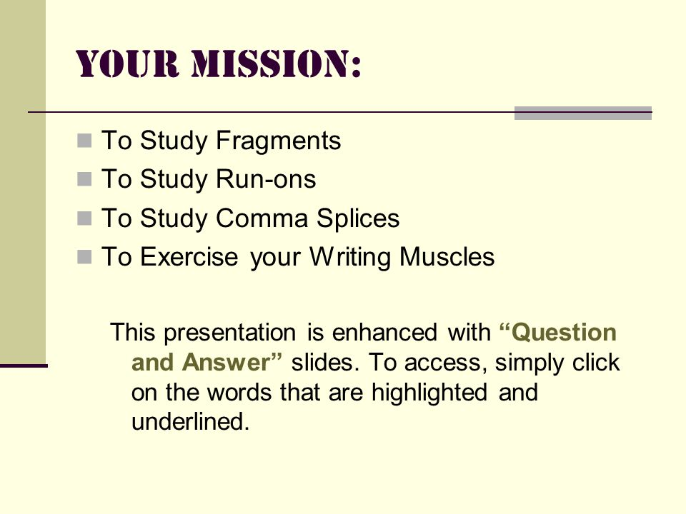 exercises on fragments and run on sentences with answers pdf