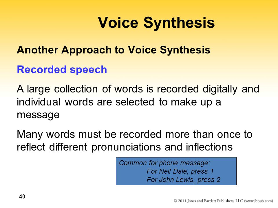 speech synthesis software