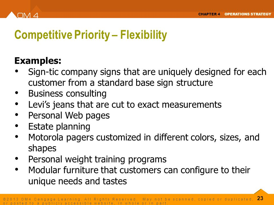 structuring a business for flexibility This business structure is typically found in companies that operate worldwide—for example matrix organizational structure: flexibility is extremely high.