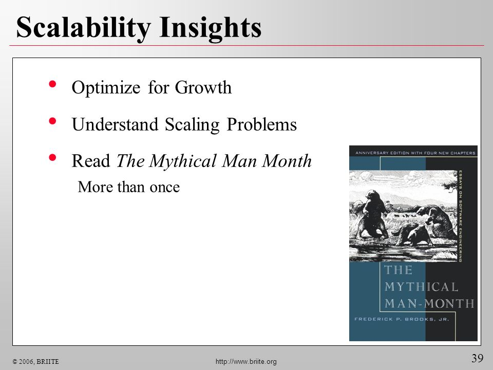Scalability Insights Optimize for Growth Understand Scaling Problems