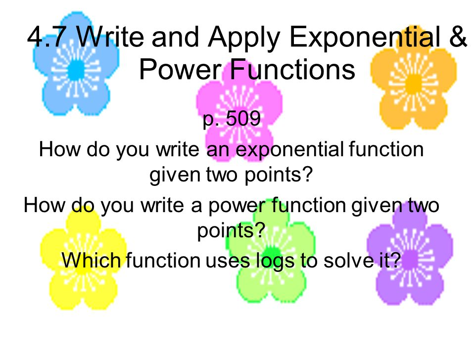writing exponential functions Date: 09/15/2001 at 11:02:22 from: doctor rob subject: re: the base of  exponential functions thanks for writing to ask dr math, stefanie.