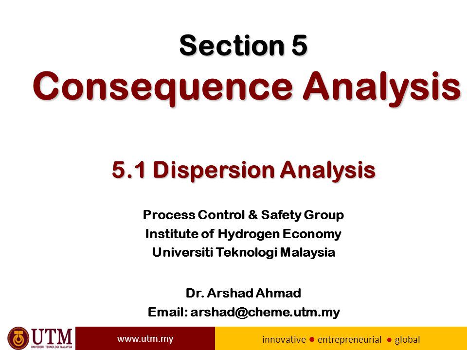 Section 5 consequence analysis 51 dispersion analysis ppt download section 5 consequence analysis 51 dispersion analysis toneelgroepblik Image collections