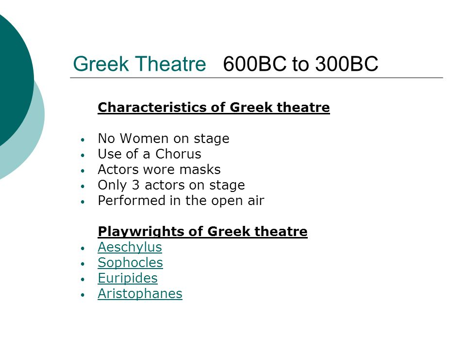 an introduction to the history of women in greek theatre Unlike most editing & proofreading services, we edit for everything: grammar, spelling, punctuation, idea flow, sentence structure, & more get started now.
