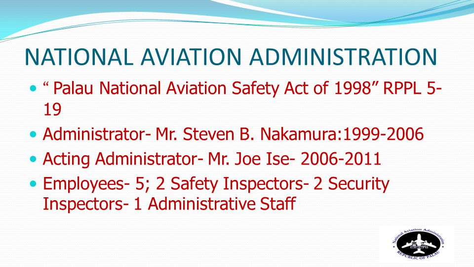 NATIONAL AVIATION ADMINISTRATION